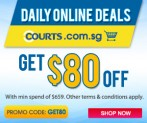 Courts SG $80 Off Online Coupon Code