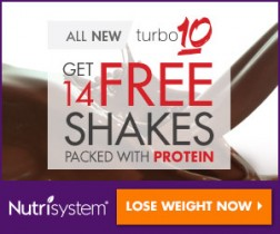 Nutrisystem Turbo 10 Free 14 Shakes Deal