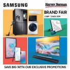 Harvey Norman Samsung Brand Fair