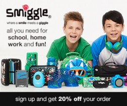Smiggle UK Online Store Deal
