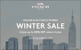 Coach UK Winter Sale