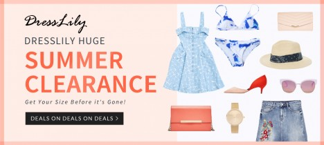 Dresslily Summer Clearance