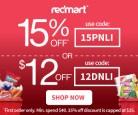 Redmart 1st Order Discount Codes