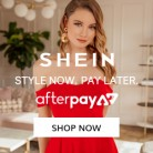 Afterpay Now Available at SHEIN AU