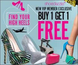 Shoedazzle Buy 1 Get 1 Free Deal
