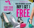 Shoedazzle Buy 1 Get 1 Free Deal