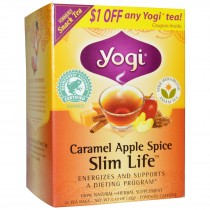 Yogi Tea Caramel Apple Spice Slim Life Review & Coupon Code