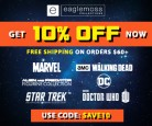 Eaglemoss 10% Off Discount Code