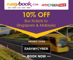 MALAYSIA CYBER SALE 10% OFF BUS TICKET