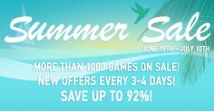 GamersGate Summer Sale 2017