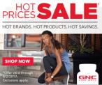 GNC Summer Sale July 2017
