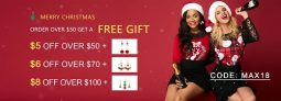 ROSEWE Christmas Promotion 2018