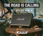 Marshall Headphones Limited Offer – 30% off all Marshall® Portable Speakers