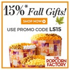 The Popcorn Factory Thanksgiving Treat Coupon Code