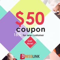 DressLink $50 Coupon Code